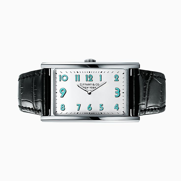 Tiffany East West®:Reloj de 3 manecillas de 42 mm x 25 mm