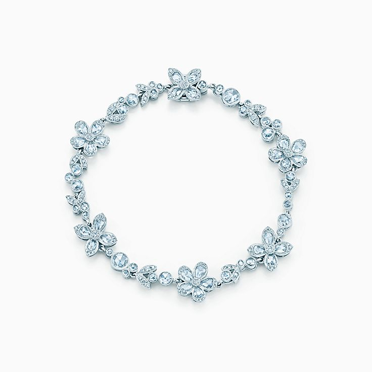 Браслет с цветами Tiffany Enchant™