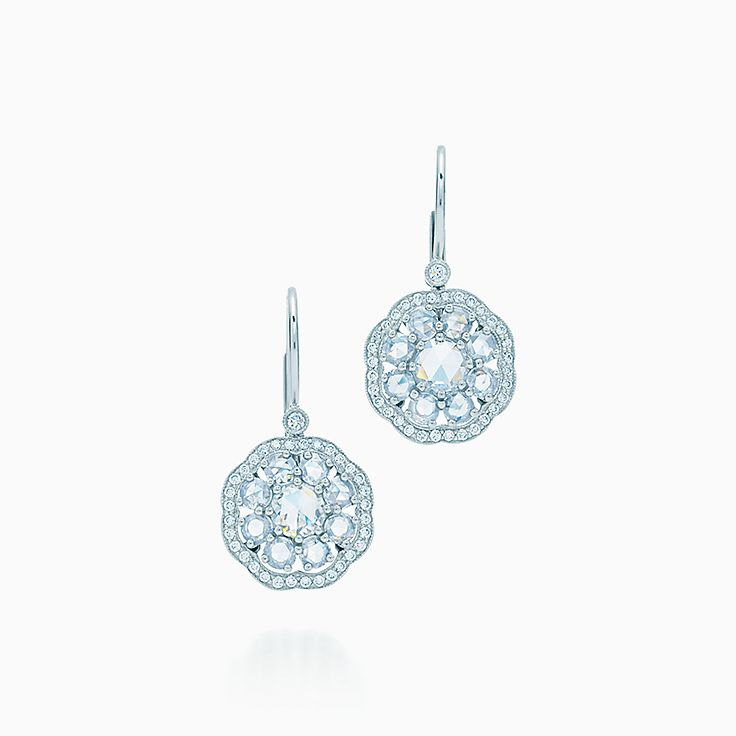 Tiffany Enchant™:Fleur Earrings