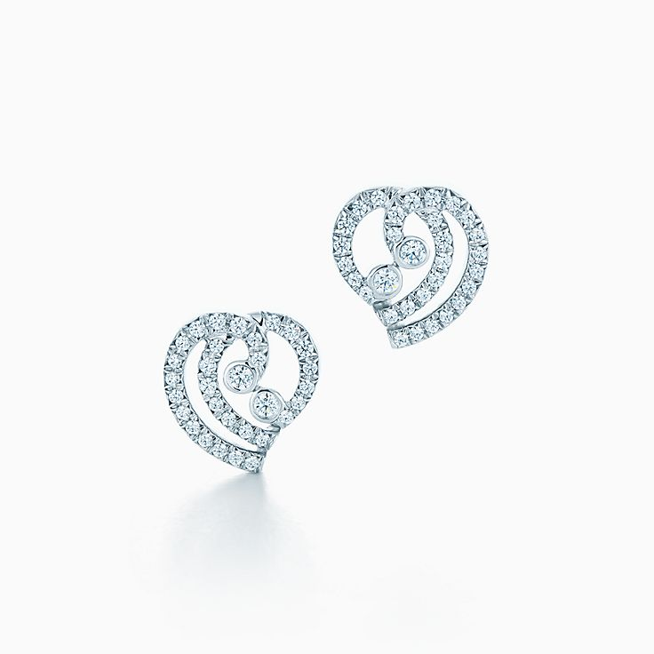 Tiffany Enchant™:Heart Earrings
