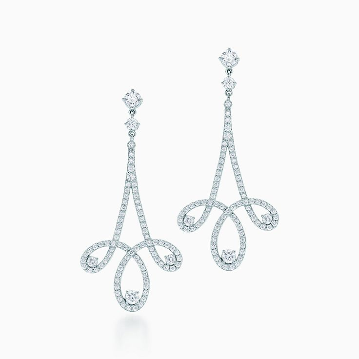 Tiffany Enchant™:Scroll Earrings
