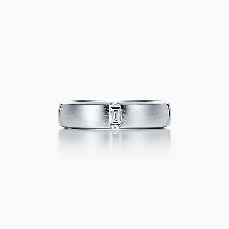 Tiffany Essential Band:Сатинированное кольцо