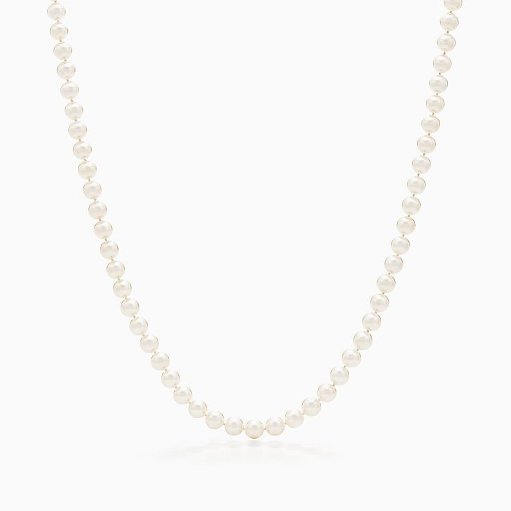 Tiffany Essential Pearls:Колье