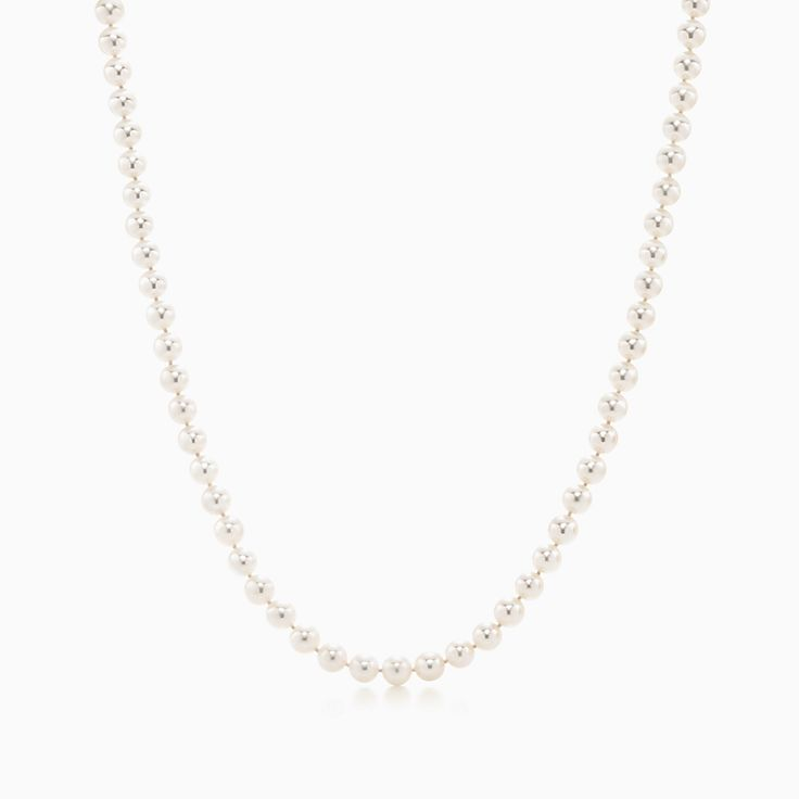 Tiffany Essential Pearls:Necklace