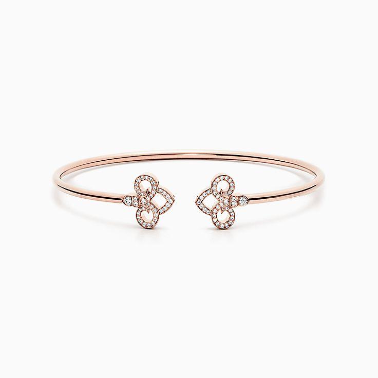 Tiffany Fleur de Lis: «проволочный» браслет