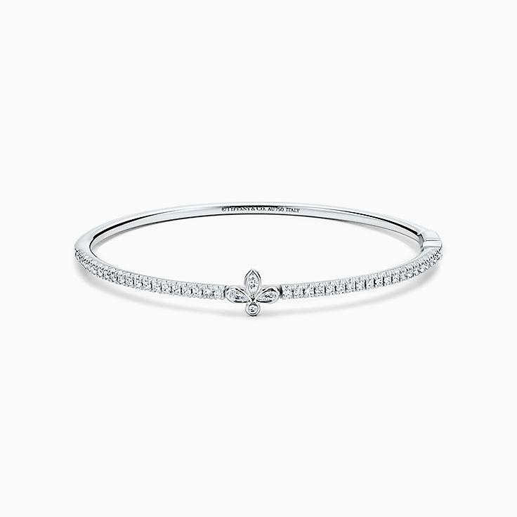 Tiffany Fleur de Lis: Bracelet jonc
