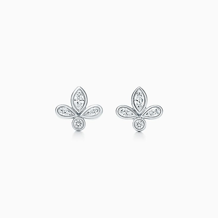 Tiffany Fleur de Lis:Earrings