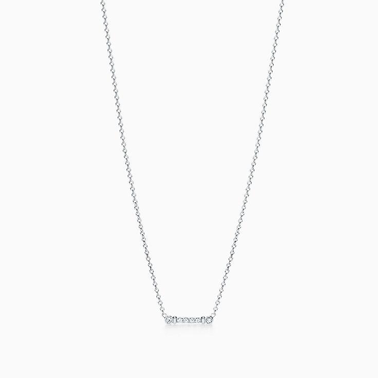 Tiffany Fleur de Lis:Key Bar Pendant