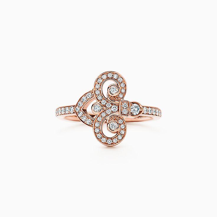 Tiffany Fleur de Lis:Ring