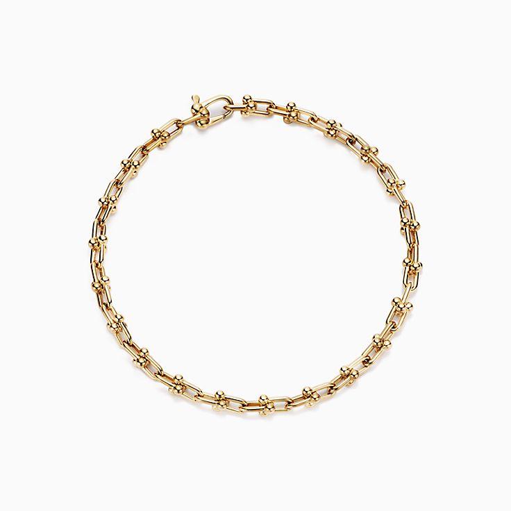 Tiffany HardWear:браслет из микрозвеньев
