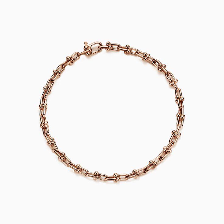 Tiffany HardWear: браслет из микрозвеньев