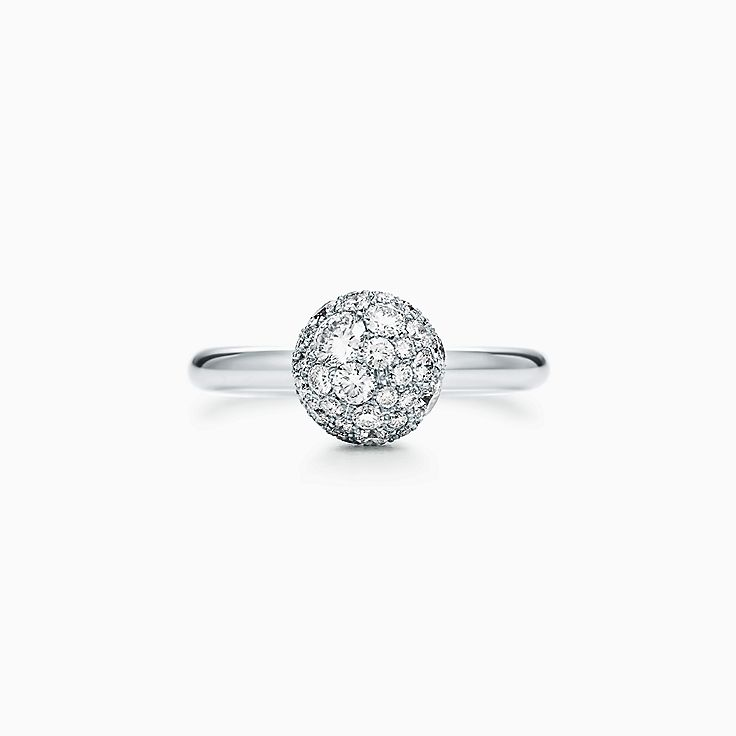 Tiffany HardWear: кольцо с элементом в форме шара