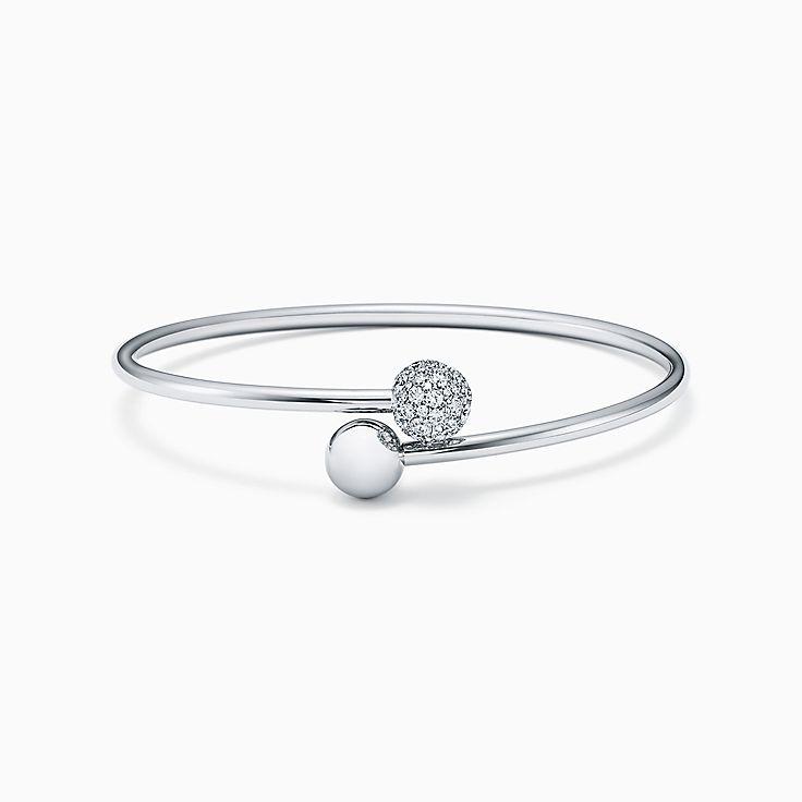 Tiffany HardWear: жесткий браслет с элементом в форме шара