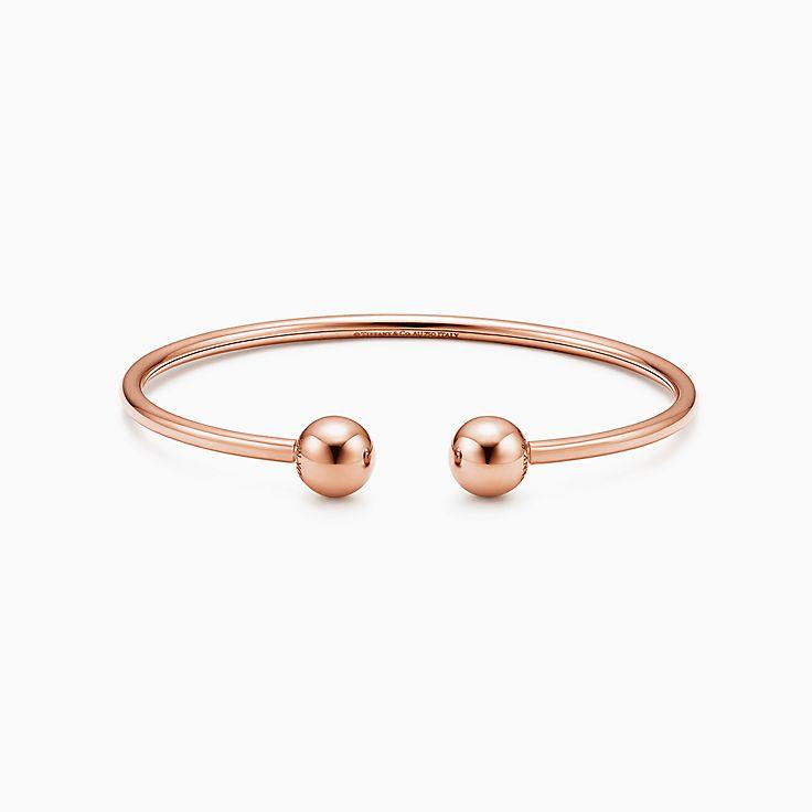 Tiffany HardWear: pulseira de fio com esfera