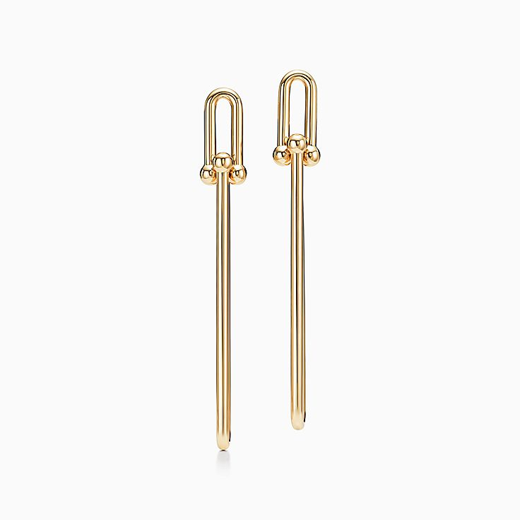 Tiffany HardWear:Double Long Link Earrings