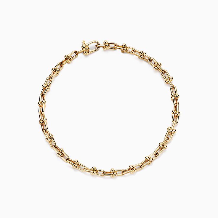 Tiffany HardWear:pulseira de microelos