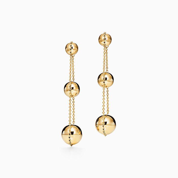 Tiffany HardWear:Triple Drop Earrings