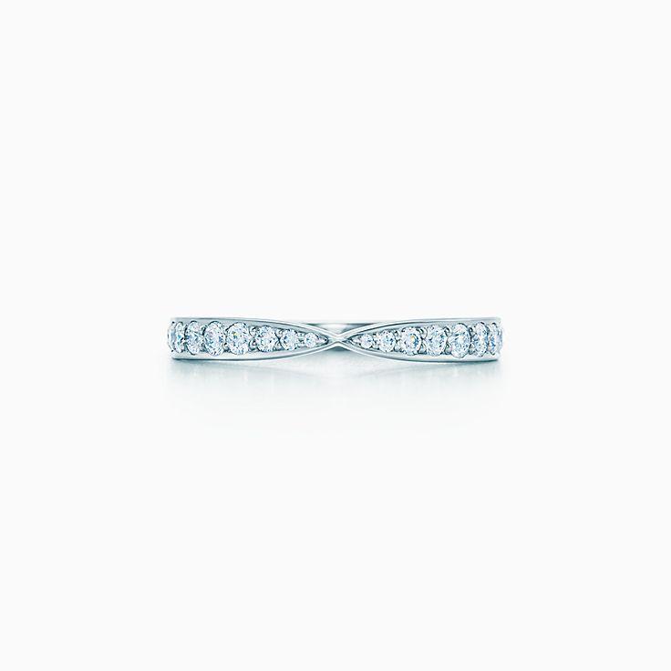 Tiffany Harmony® Anello con diamante incastonato a griffe