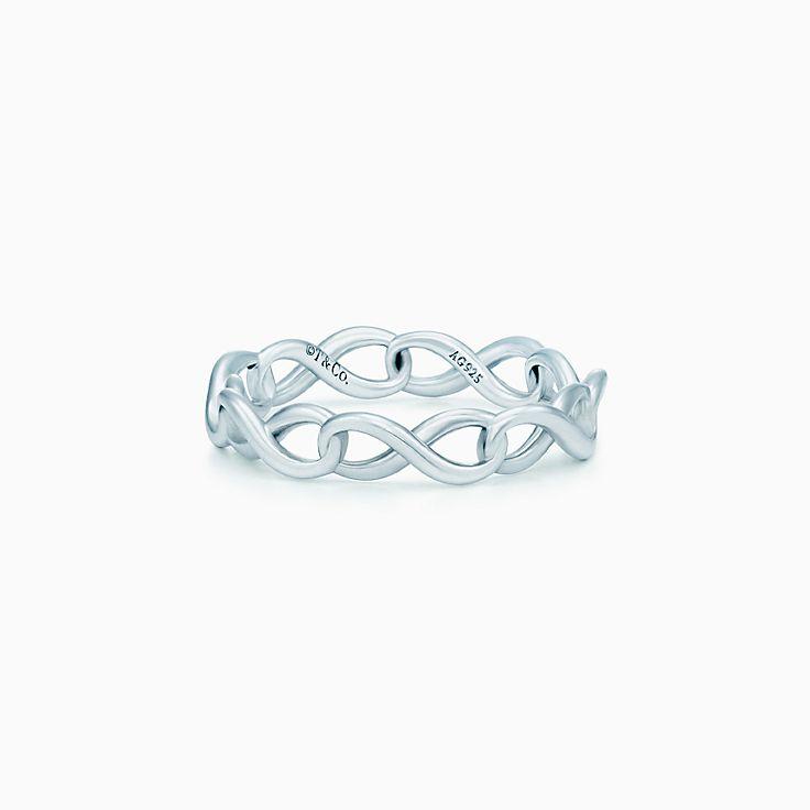 Tiffany Infinity:Narrow Band Ring