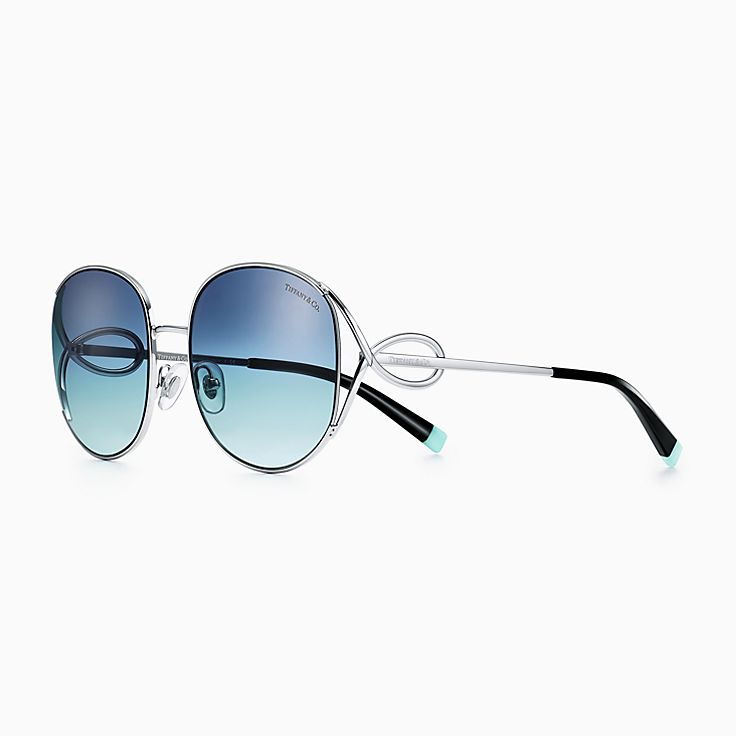 Tiffany Infinity:Rectangular Sunglasses