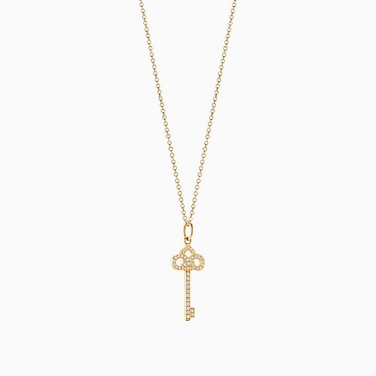 Tiffany Keys:Подвеска-ключ с королевской лилией