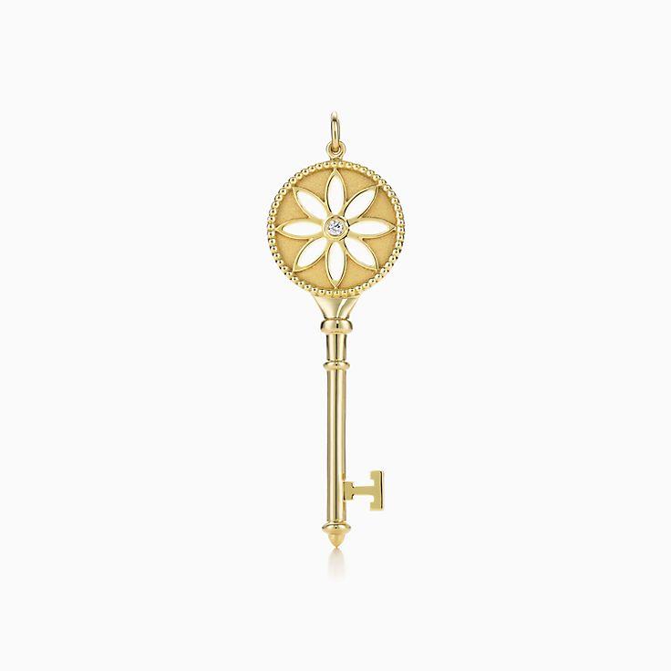 Tiffany Keys: подвеска-ключ с маргариткой