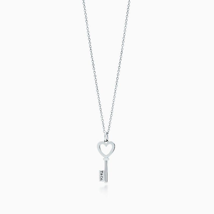 Tiffany Keys: подвеска-ключ с сердцем