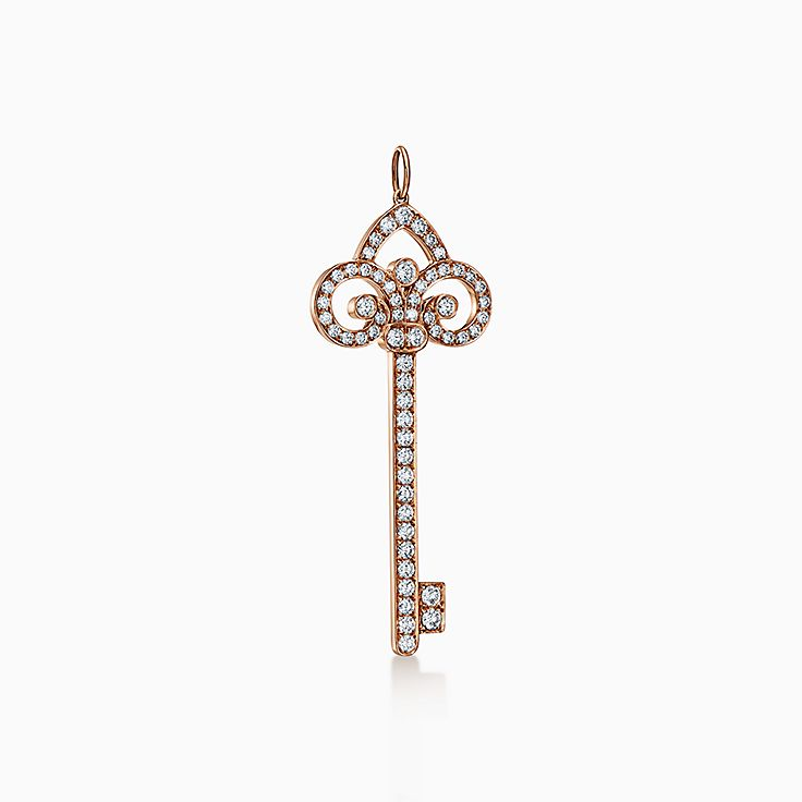 Tiffany Keys: подвеска-ключ с королевской лилией