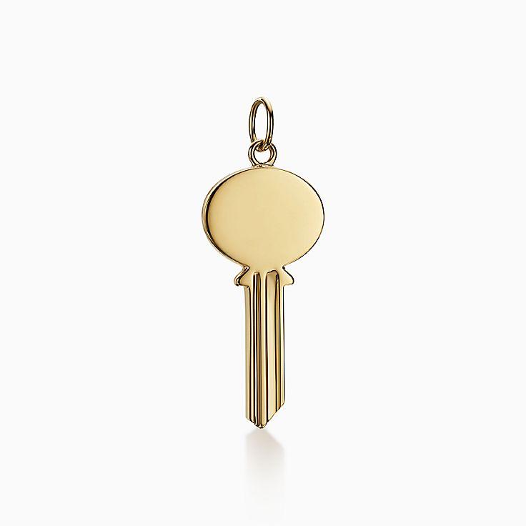 Tiffany Keys:Овальная подвеска-ключ Modern Keys