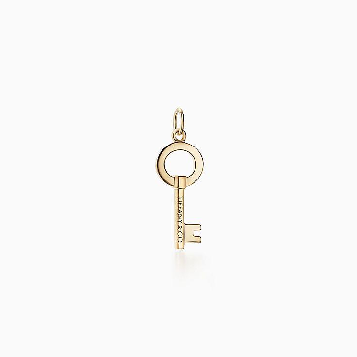 Tiffany Keys:Открытая круглая подвеска-ключ Modern Keys