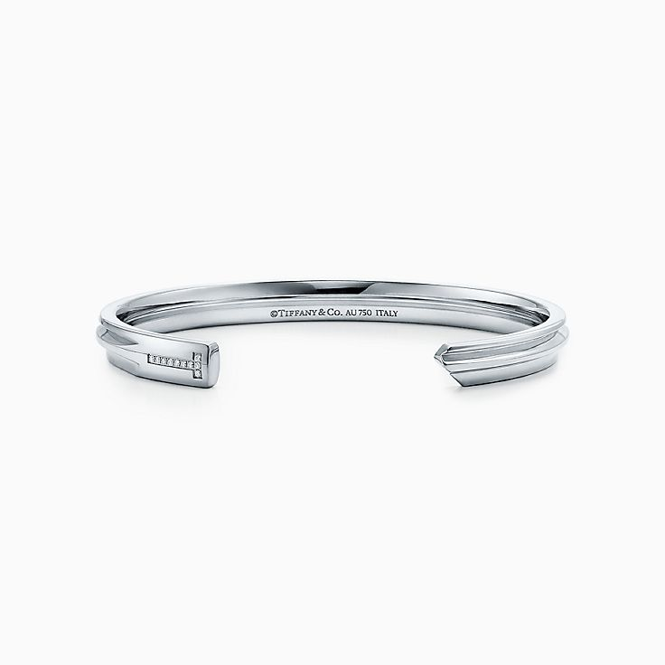 Tiffany Keys:Узкий браслет-кафф Modern Keys