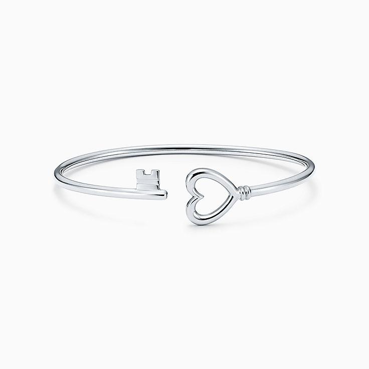 Tiffany Keys: браслет Wire с сердцем