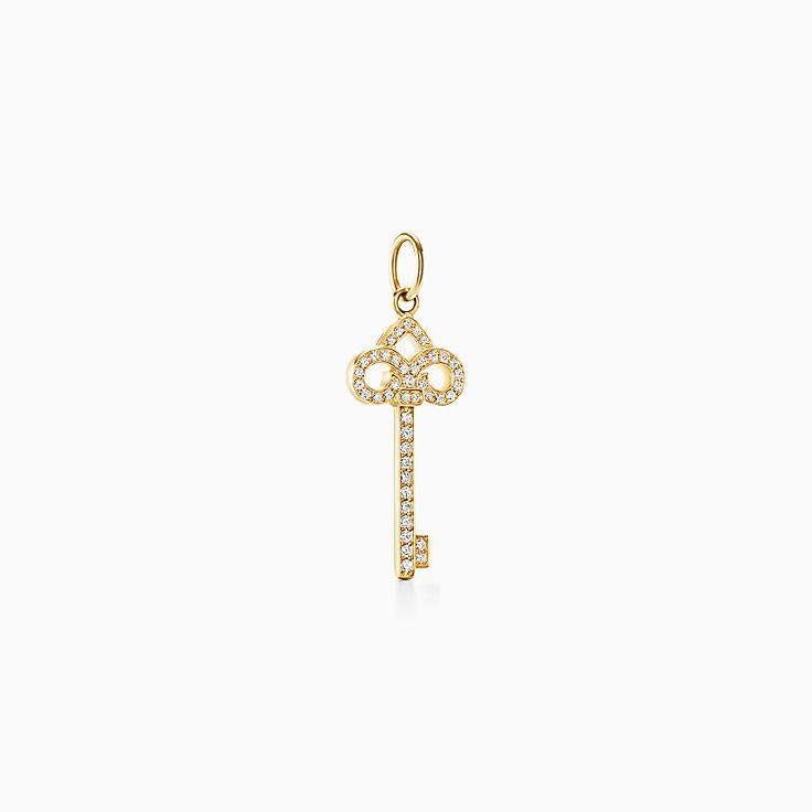 Tiffany Keys:Chave Fleur de Lis