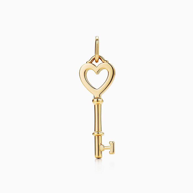 Tiffany Keys:Heart Key Pendant
