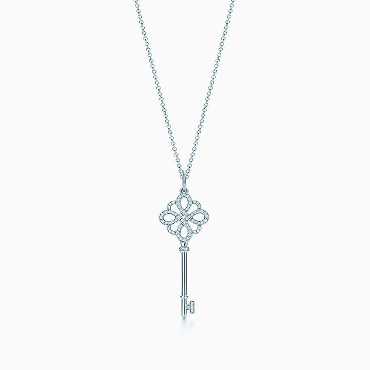 Tiffany Keys:Knot Key Pendant