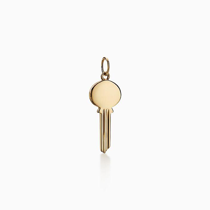 Tiffany Keys:Modern Keys 橢圓形鑰匙 鍊墜
