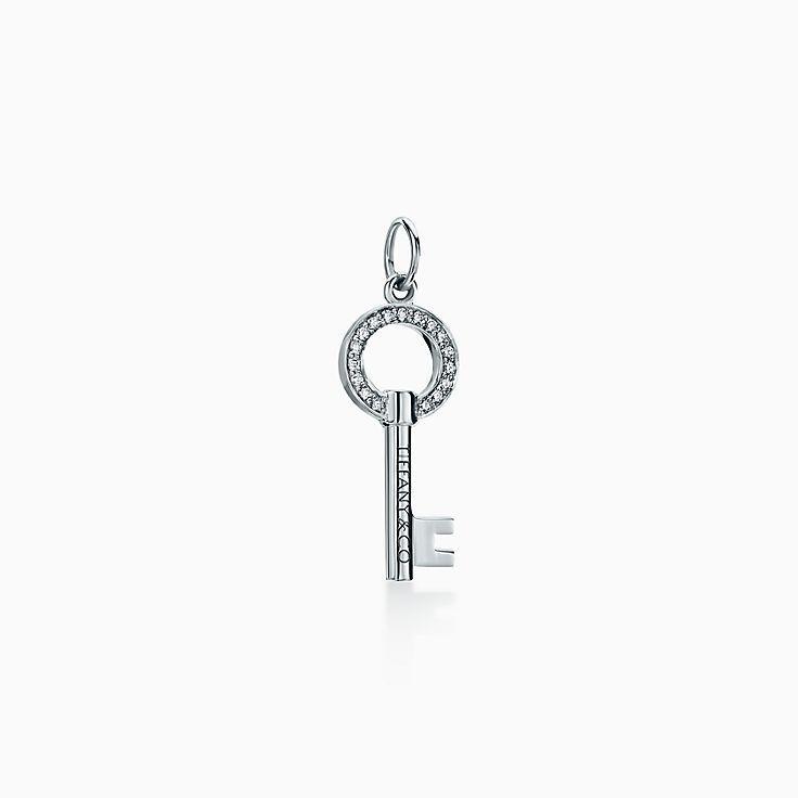 Tiffany Keys:Modern Keys 縷空圓形鑰匙 鍊墜