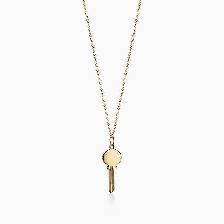Tiffany Keys:Modern Keys Oval Key Pendant