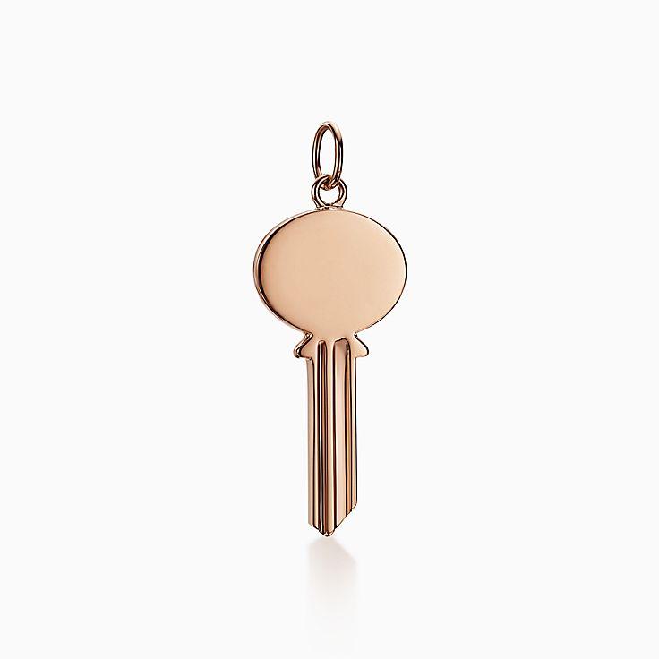 Tiffany Keys:Modern Keys Ovaler Schlüssel-Anhänger