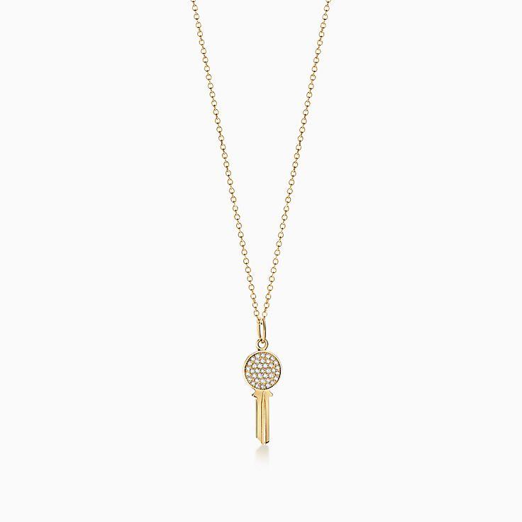 Tiffany Keys:Modern Keys Round Key Pendant