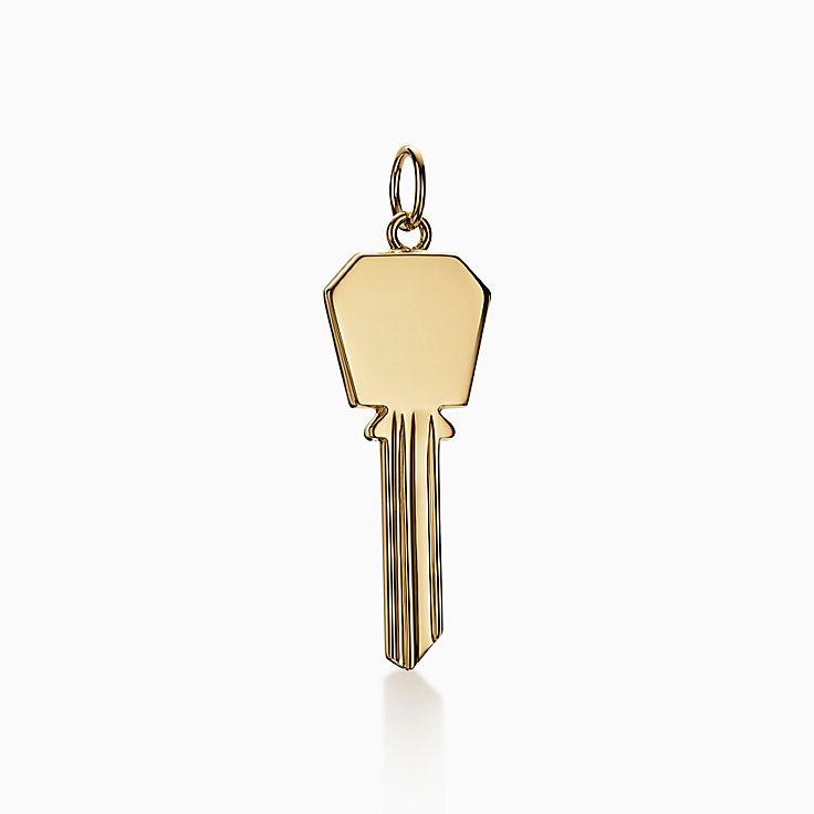 Tiffany Keys:Modern Keys Sechseckiger Schlüssel-Anhänger