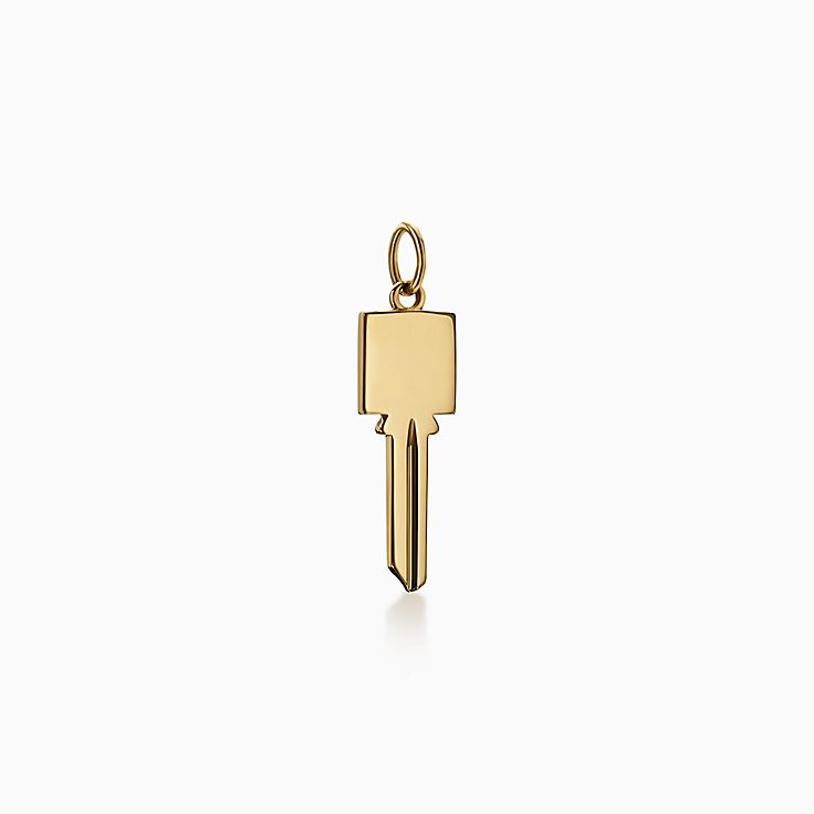 Tiffany Keys:Modern Keys Square Key Pendant