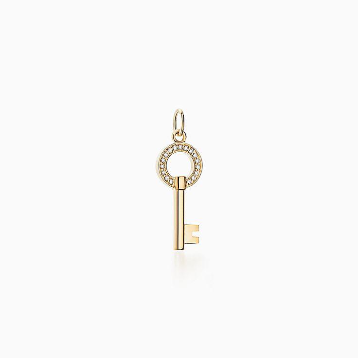 Tiffany Keys:pendente de chave redondo vazado Modern Keys