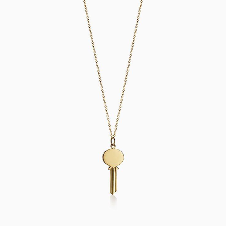Tiffany Keys:PendentifClé ovale Modern Keys