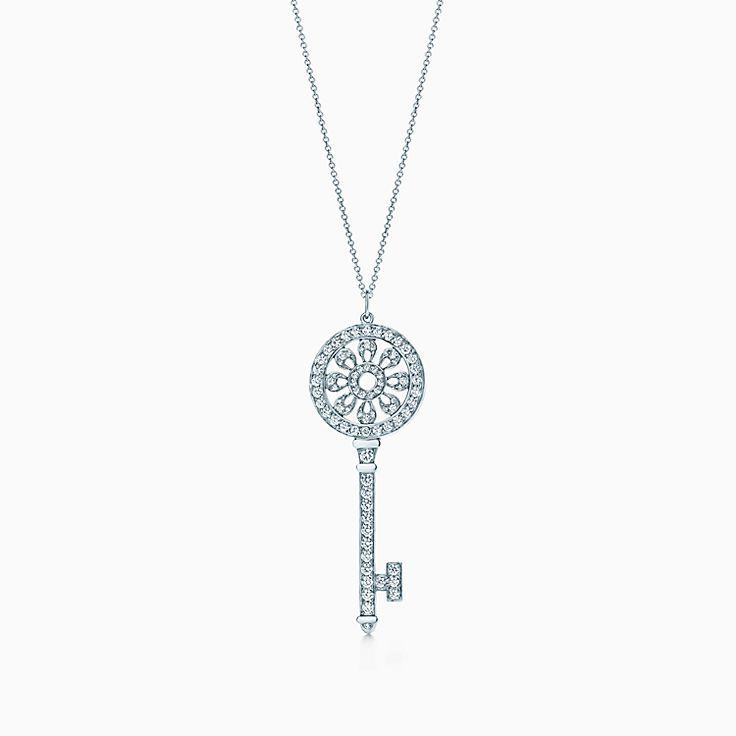 Tiffany Keys:Petals key pendant