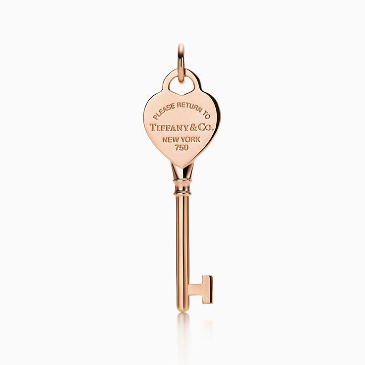 Tiffany Keys:Return to Tiffany™ 心形鑰匙鍊墜