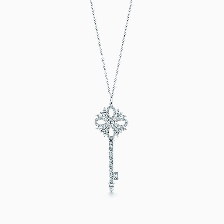 Tiffany Keys:Tiffany Victoria™ 鑰匙鍊墜