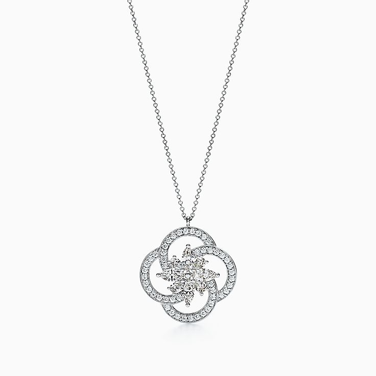 Tiffany Keys:Tiffany Victoria™ Cluster Key Top Pendant