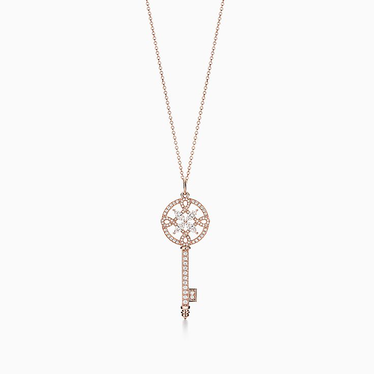 Tiffany Keys:Tiffany Victoria™ Round Key Pendant