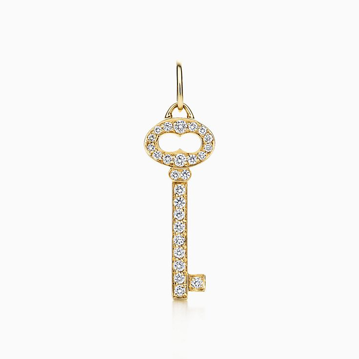 Tiffany Keys:Vintage Oval Key Charm